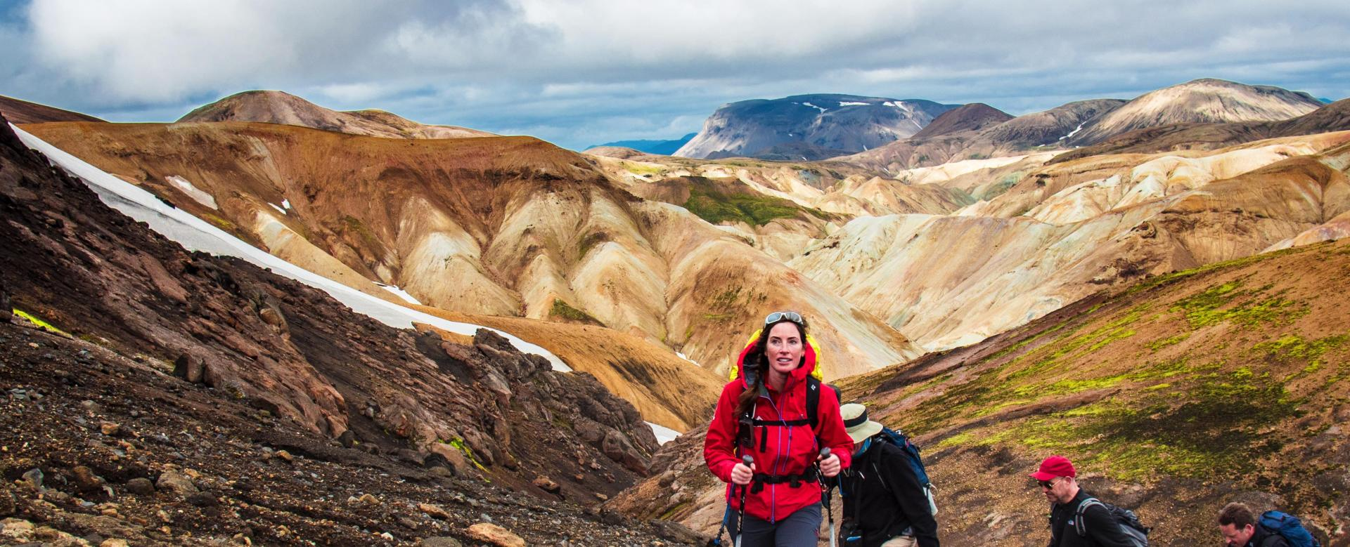 Voyage à pied : Le trek volcanique