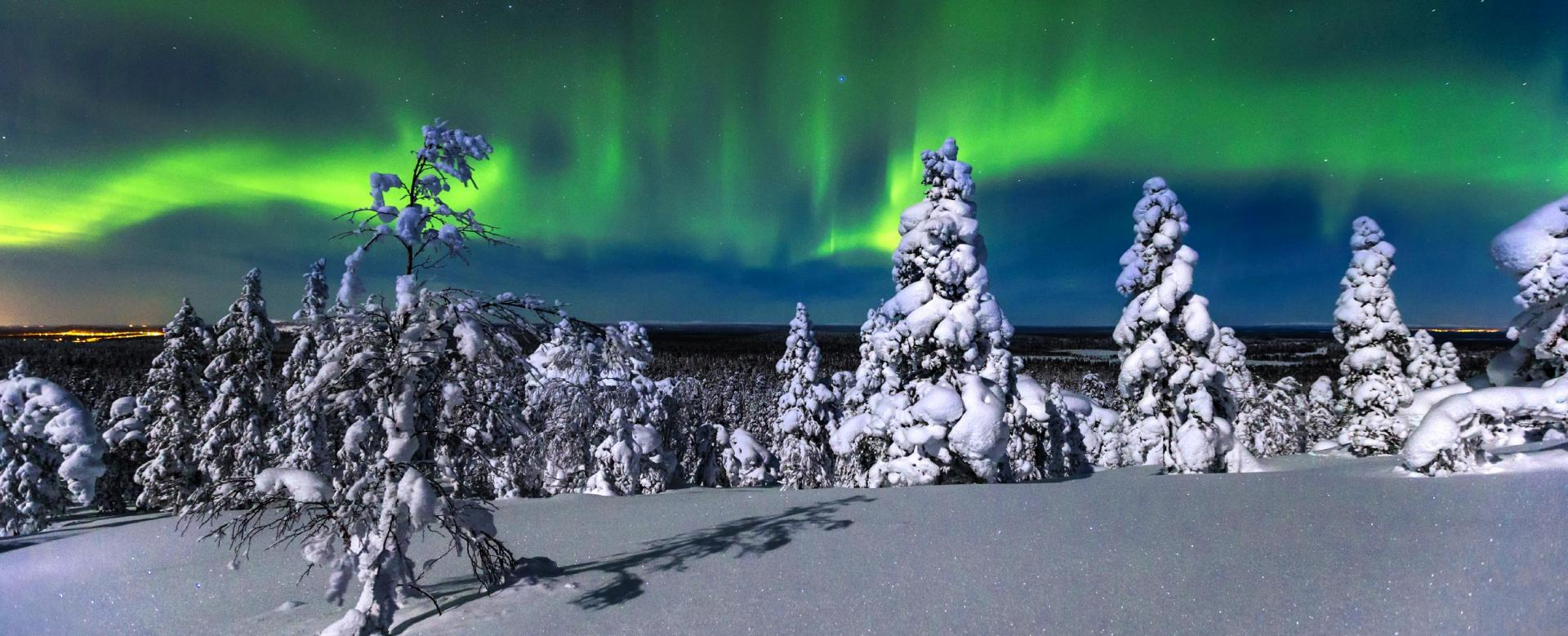 Voyage à pied : Finlande : Echappée blanche
