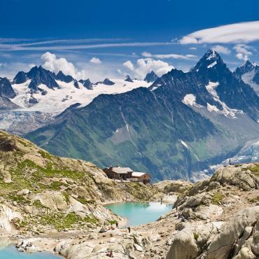 Le tour du Mont-Blanc en hôtel