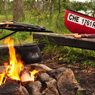 La Finlande en randonnée, canoë et VTT