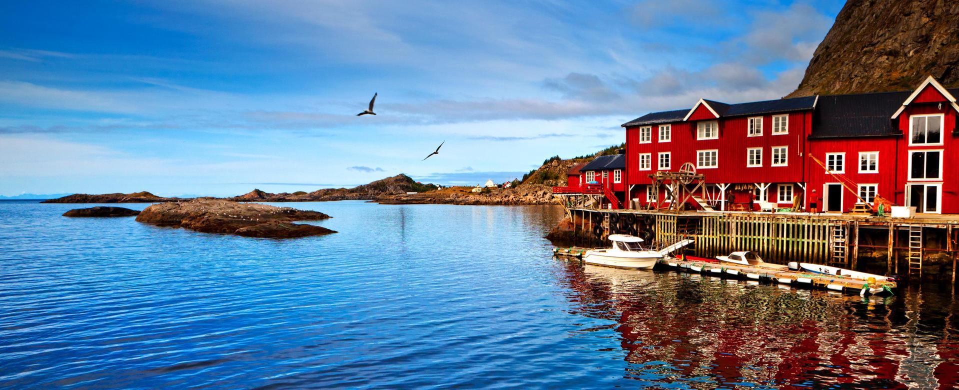 Voyage à pied Norvège : Fjords et lofoten : l'attraction polaire