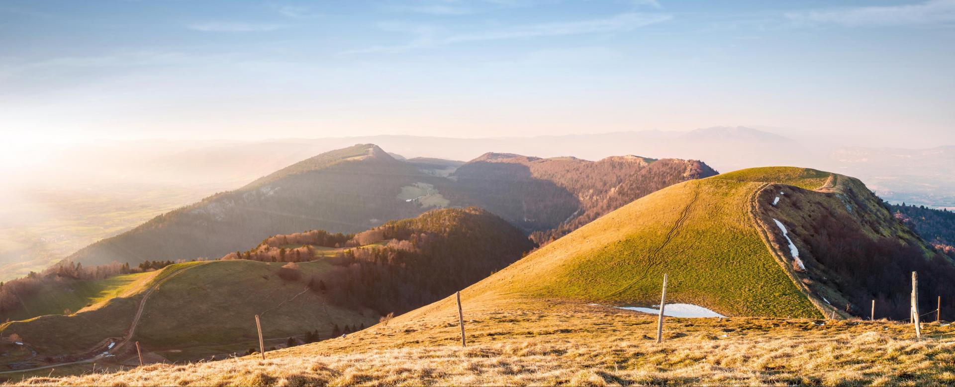 Voyage à pied : Grande traversée du jura des rousses à bellegarde
