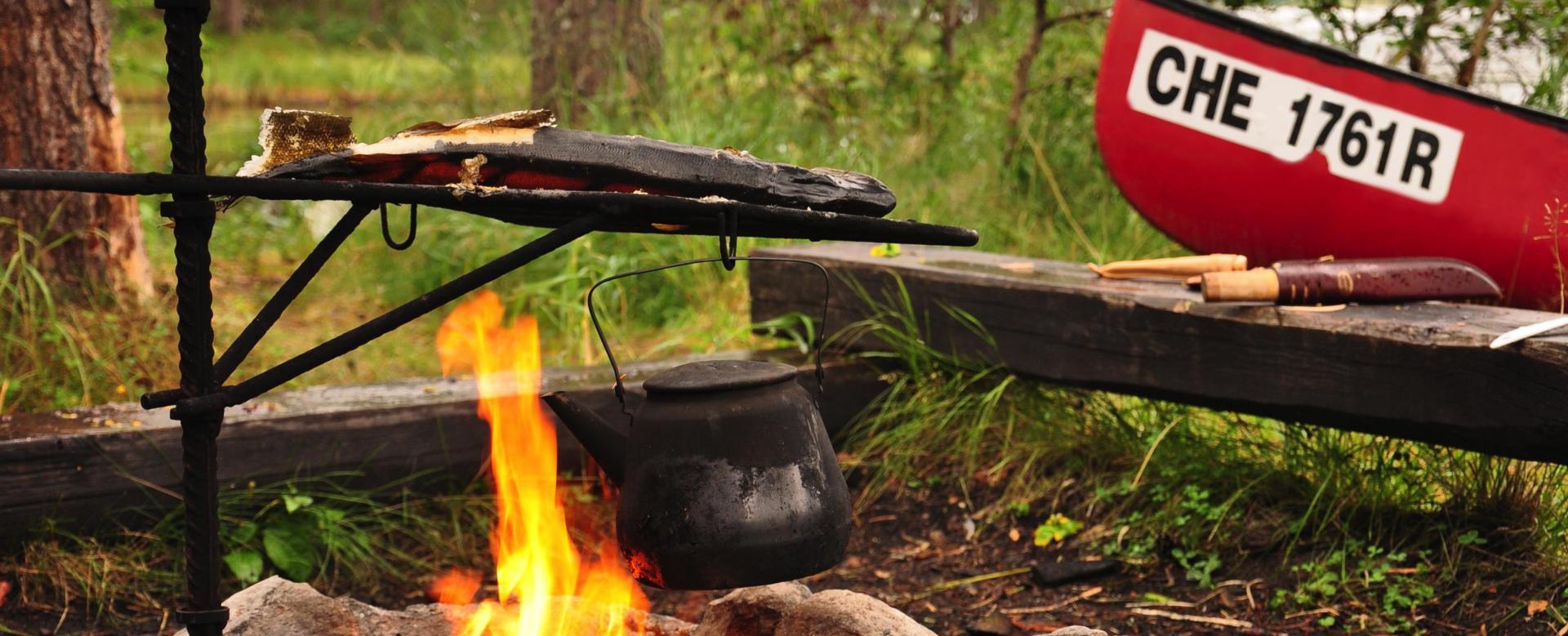 Voyage sur l'eau : La finlande en randonnée, canoë et vtt