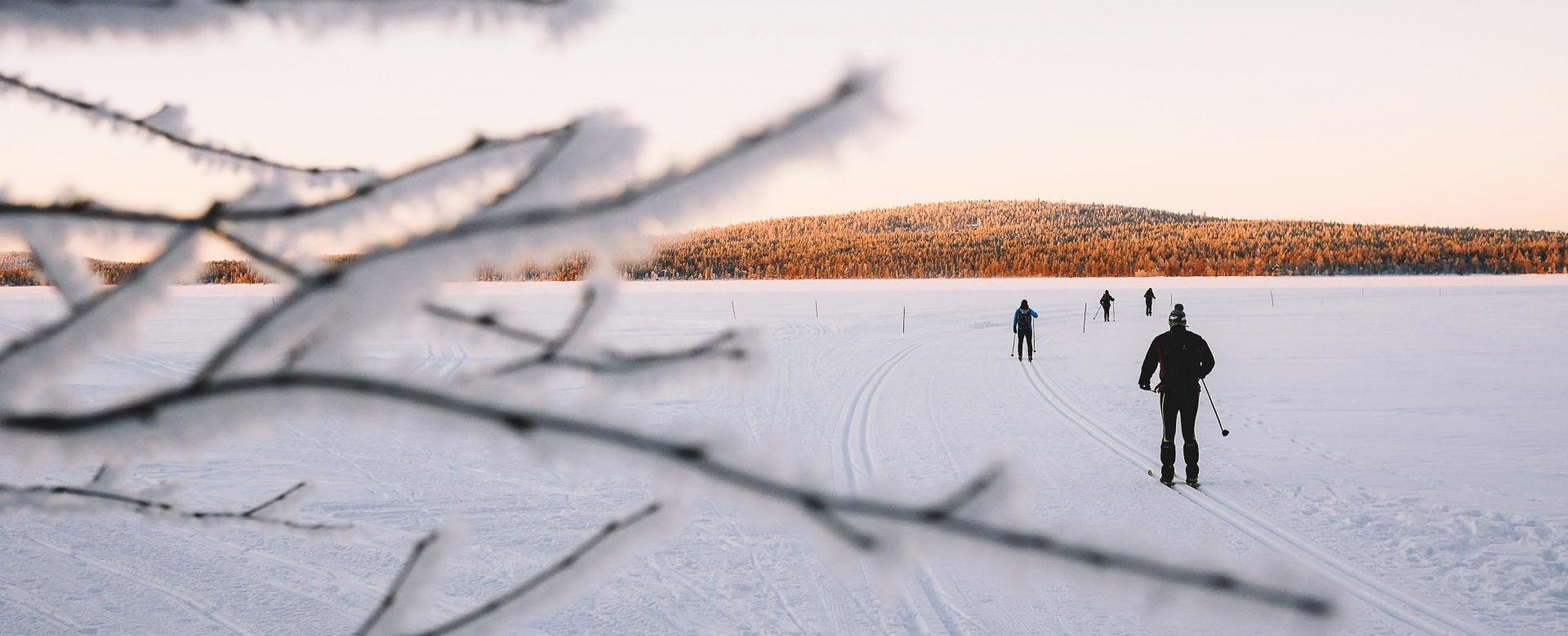 Voyage à la neige : Lacs et forêts de kainuu