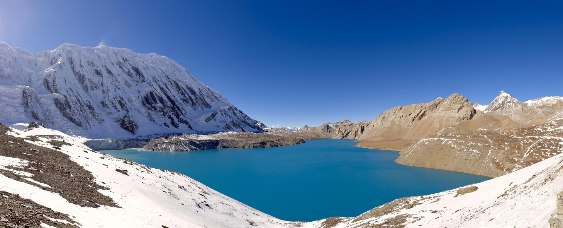 Voyage à pied : Tour des annapurnas : lac tilicho et mesokanta la