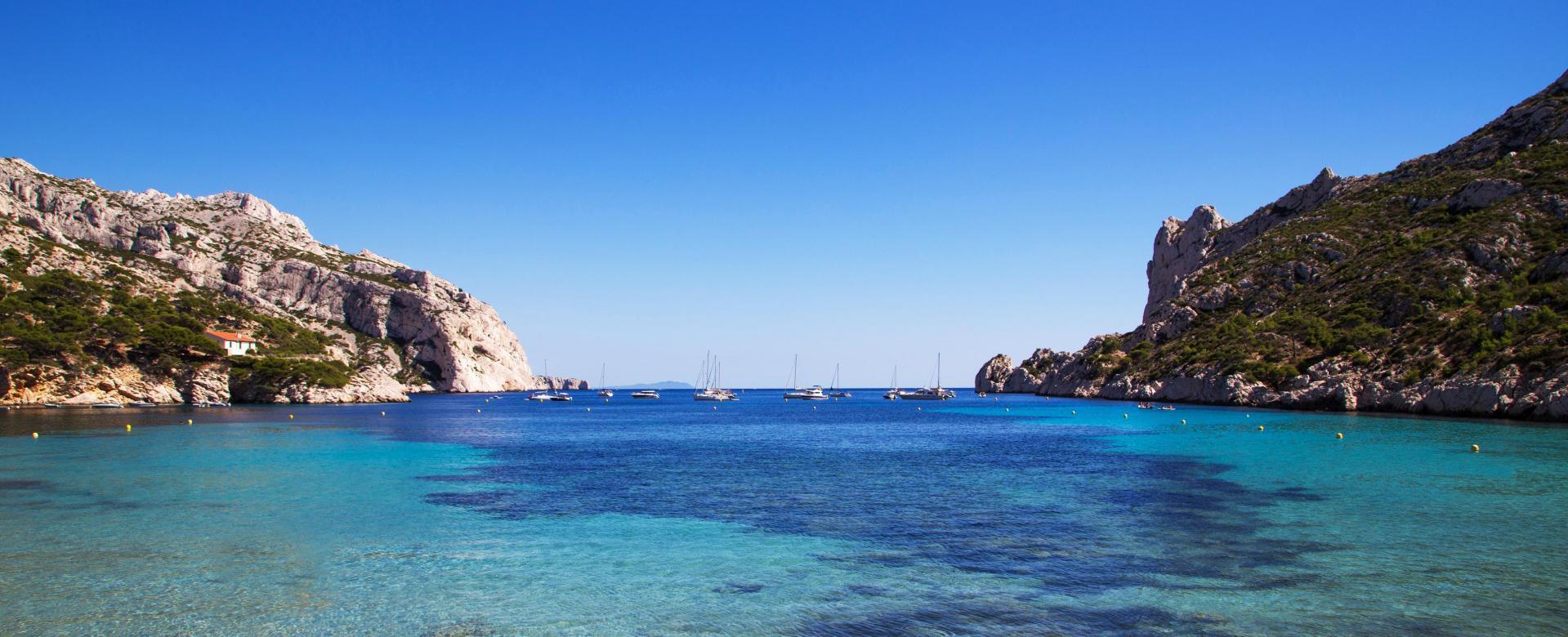 Voyage à pied : Provence : Des calanques de marseille à la côte bleue