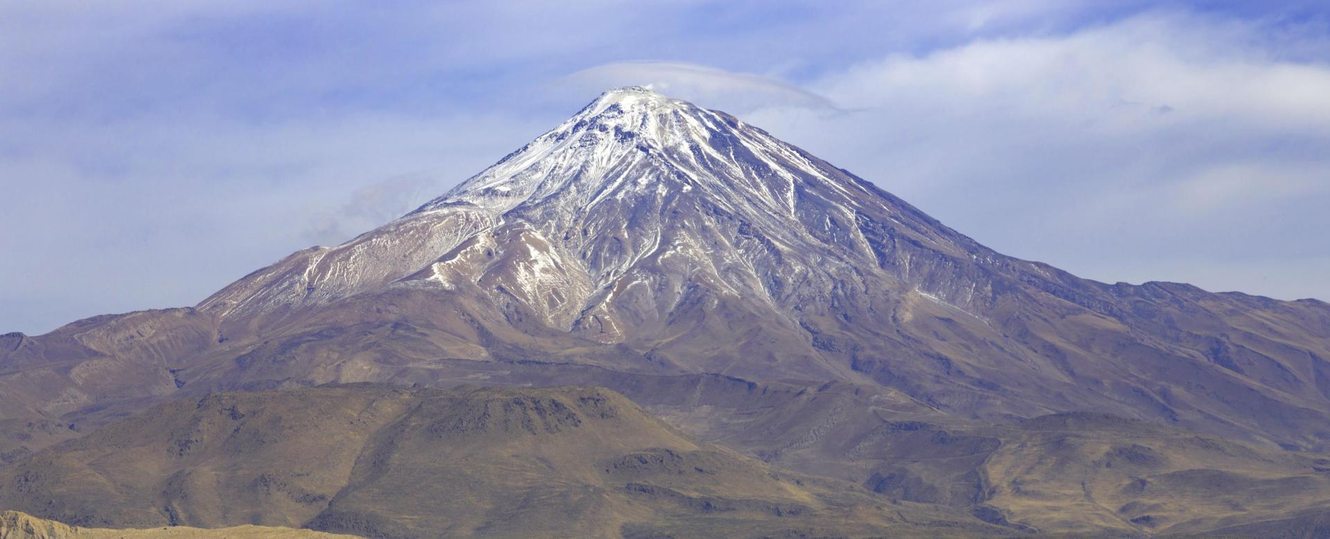 Voyage à pied Iran : Damavand et villes perses