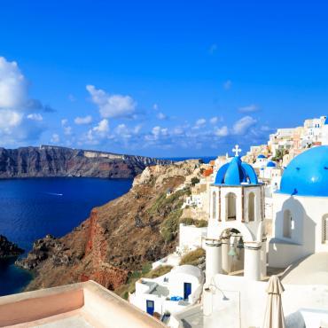 La Crète et Santorin