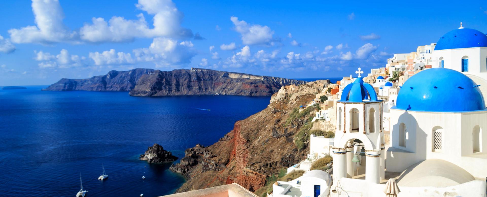 Voyage à pied : La crète et santorin