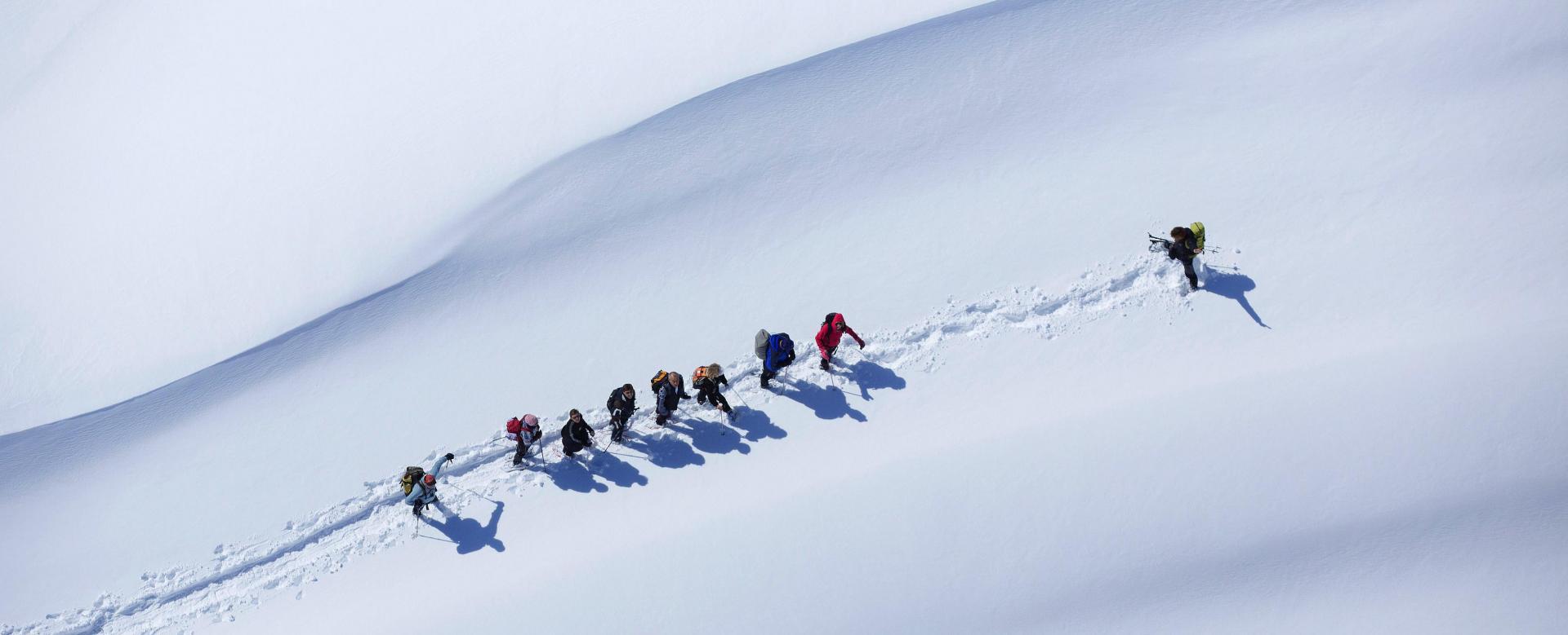 Voyage à la neige France : Sources de la loire et mont mézenc