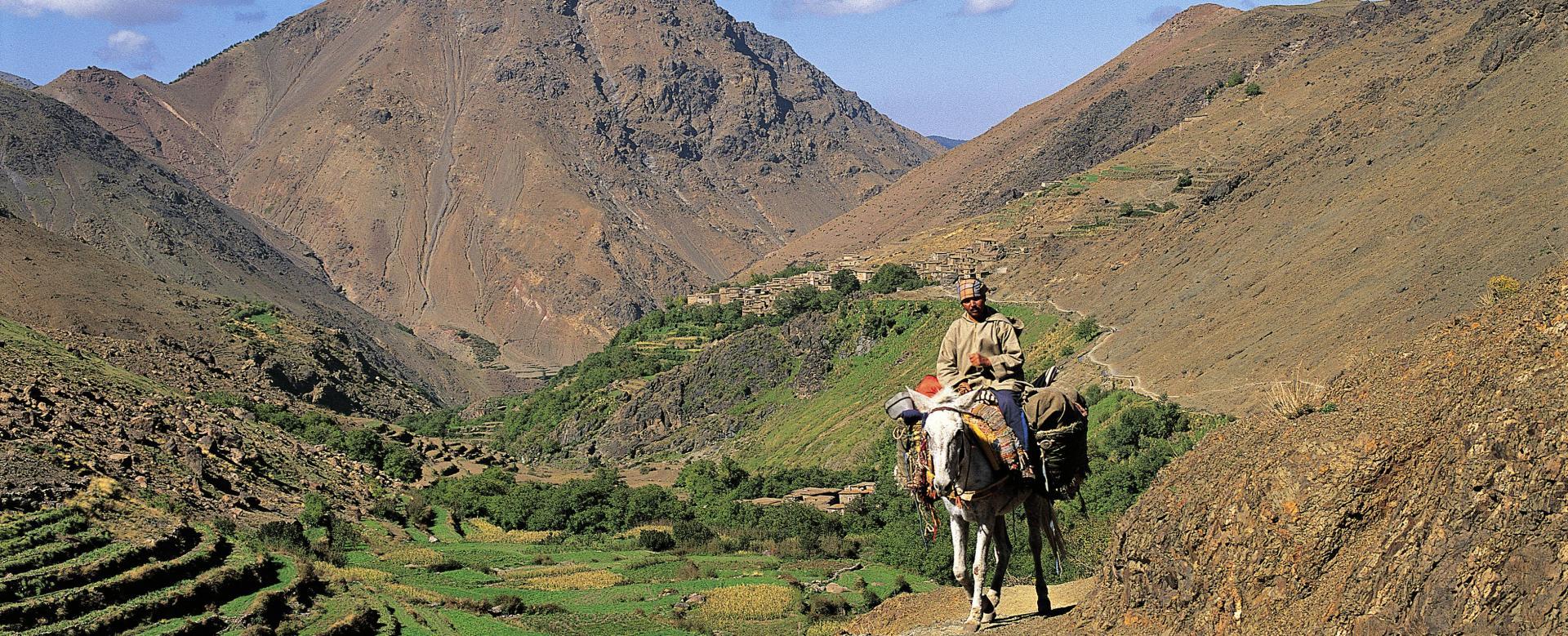 Voyage à pied : Hautes vallées du toubkal