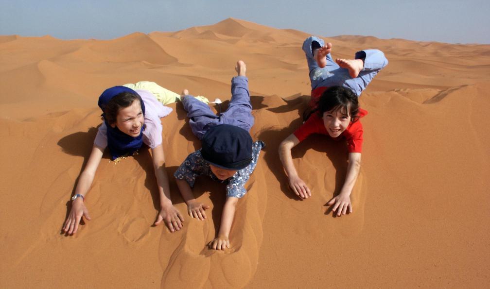Image Nomades du désert