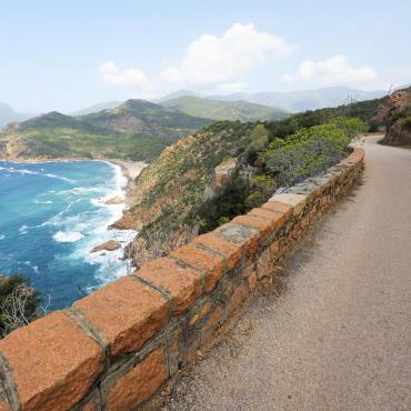 De Bastia à Ajaccio par la côte ouest à vélo