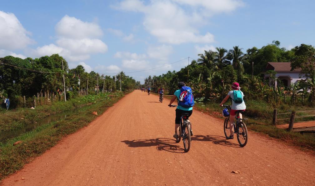 Image Le meilleur du cambodge a vélo