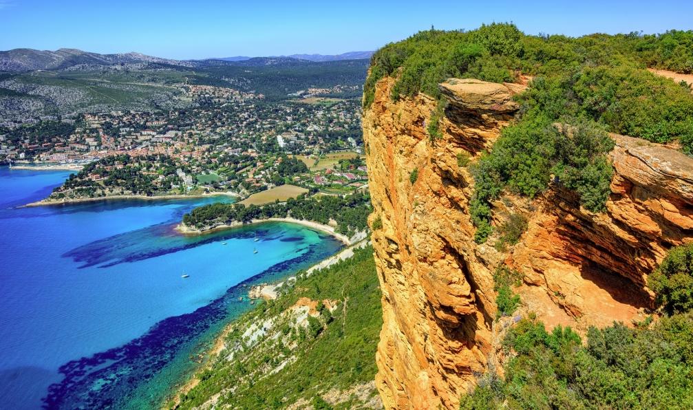 Image Des calanques de marseille à la côte bleue