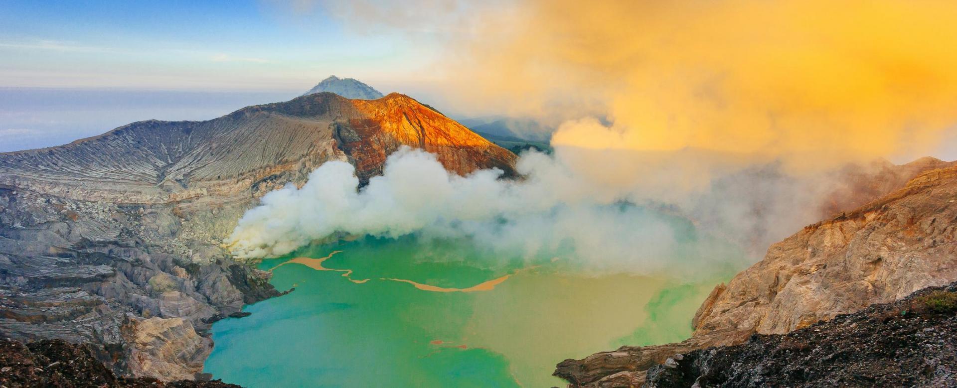 Voyage à pied : Java et bali des hauteurs