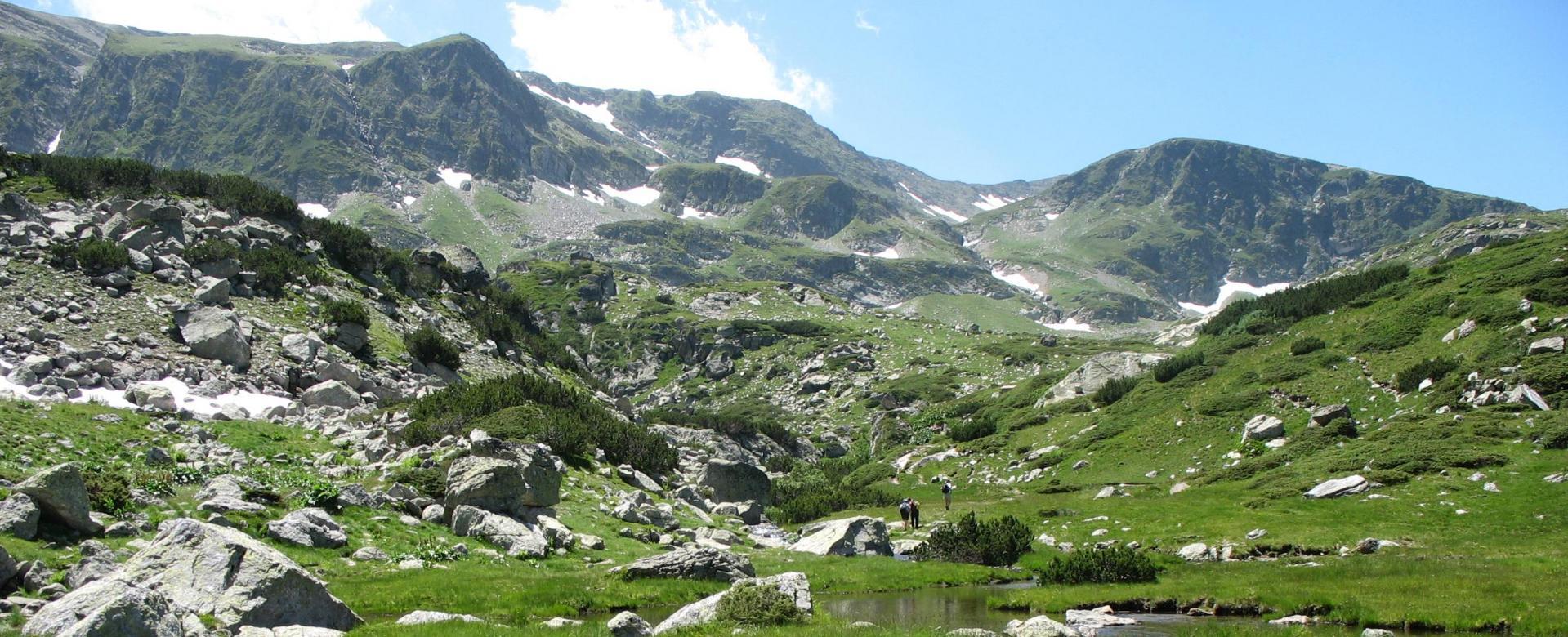 Voyage à pied : Montagnes du rila et du pirin