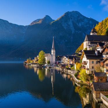 Symphonie alpine dans la région de Salzbourg