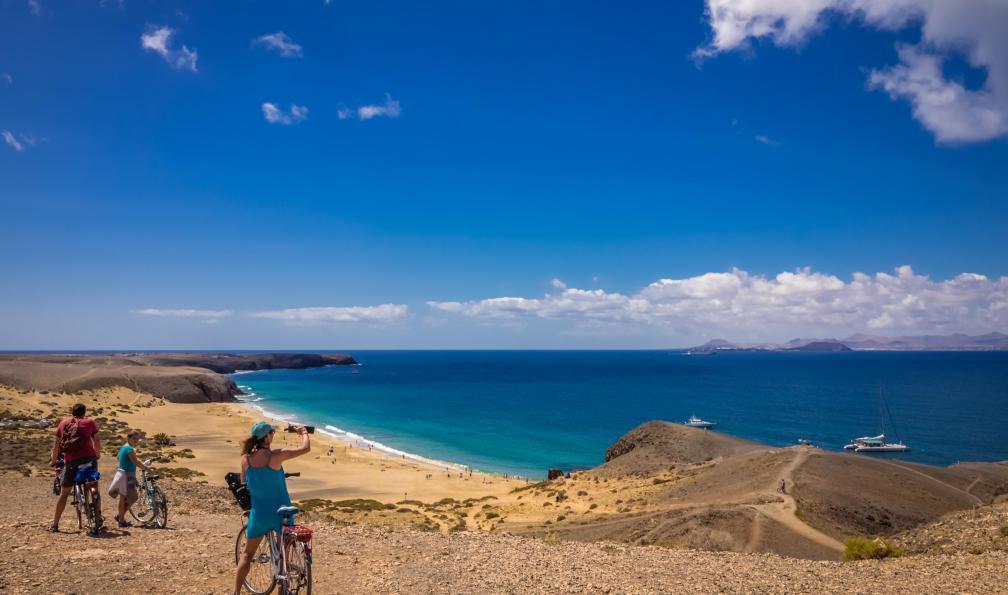 Image Lanzarote et la graciosa à vélo
