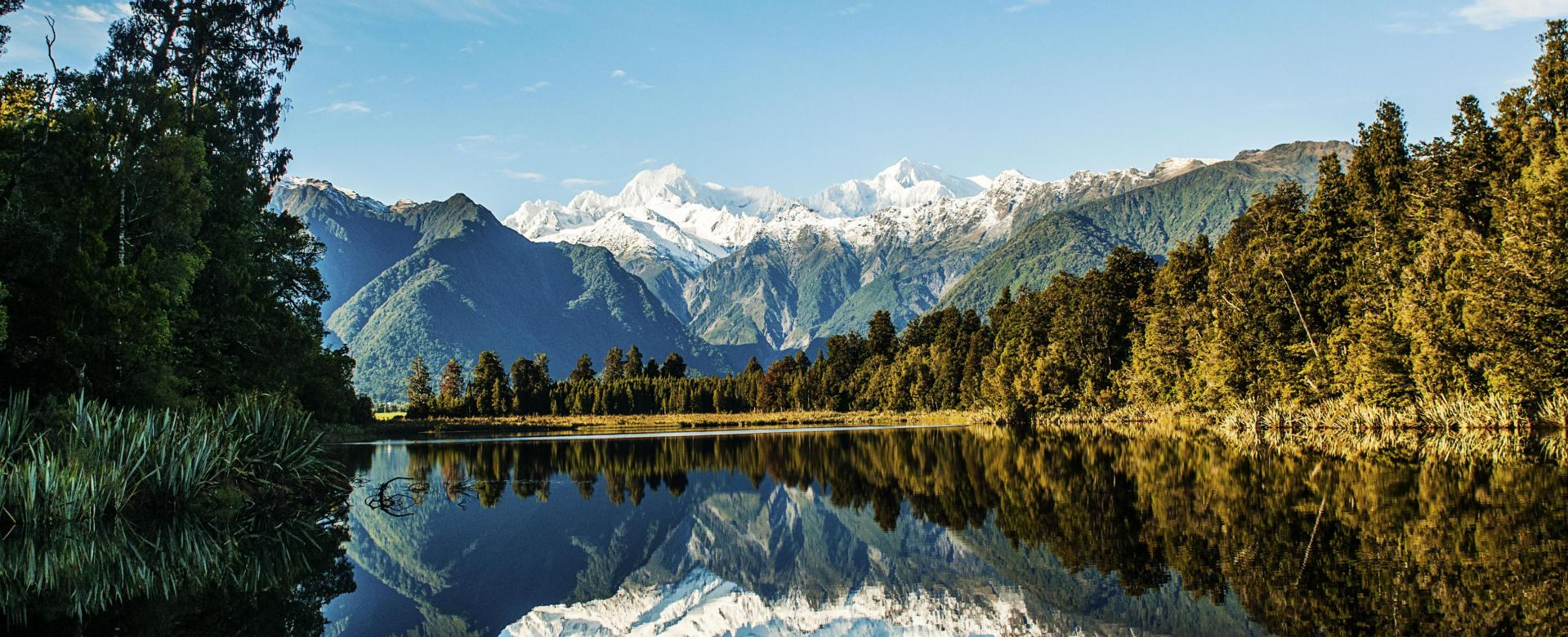 Voyage à pied : Au coeur des îles kiwi