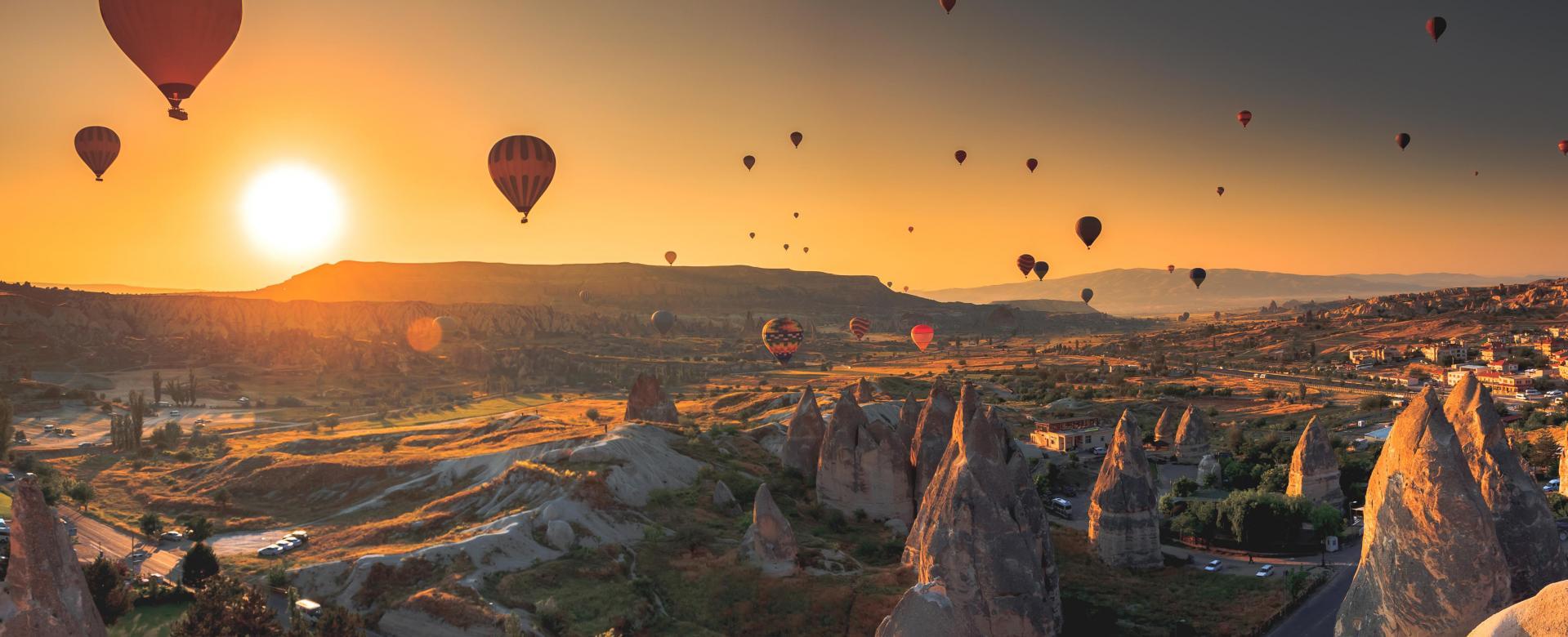 Voyage à pied Turquie : De la cappadoce à istanbul