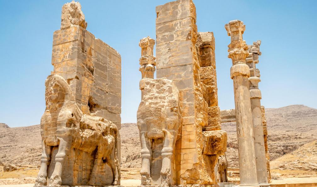 Image Des sables aux jardins persans