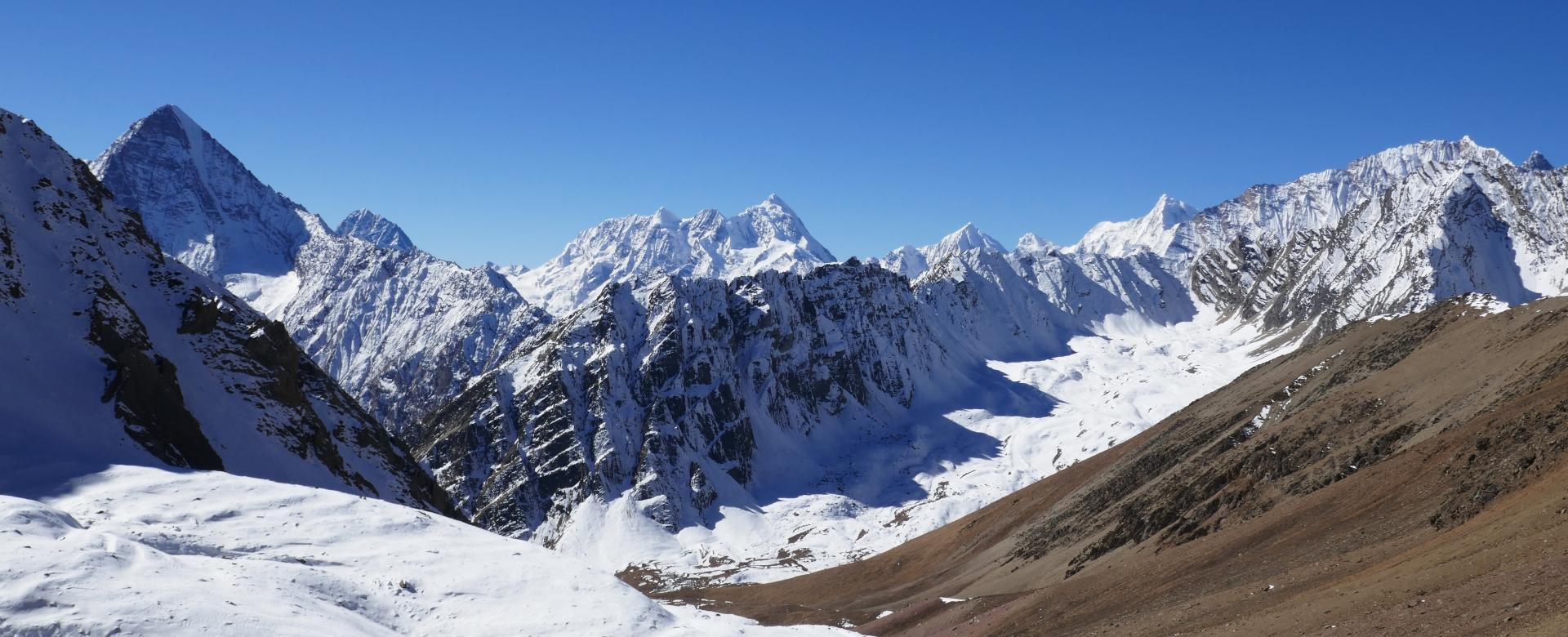 Voyage à pied : Dans l\'ouest du népal, le trek du saïpal (7031 m)