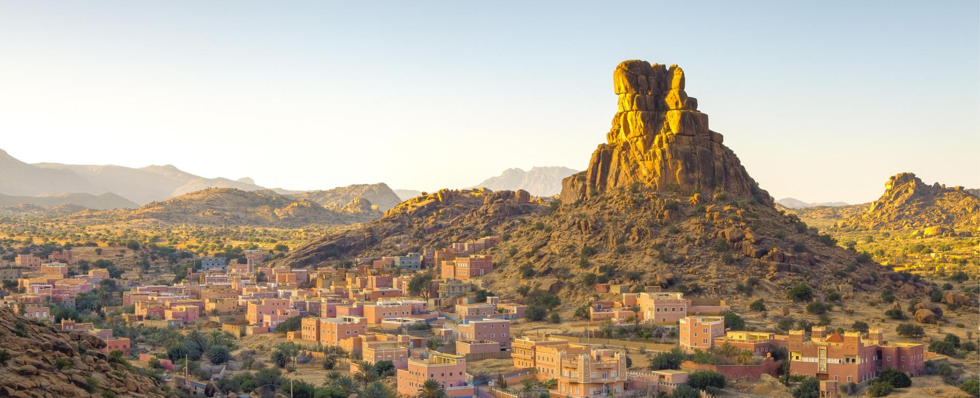 Voyage à pied : Les granits rouges de tafraoute