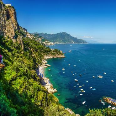 Des pentes du Vésuve à la côte Amalfitaine