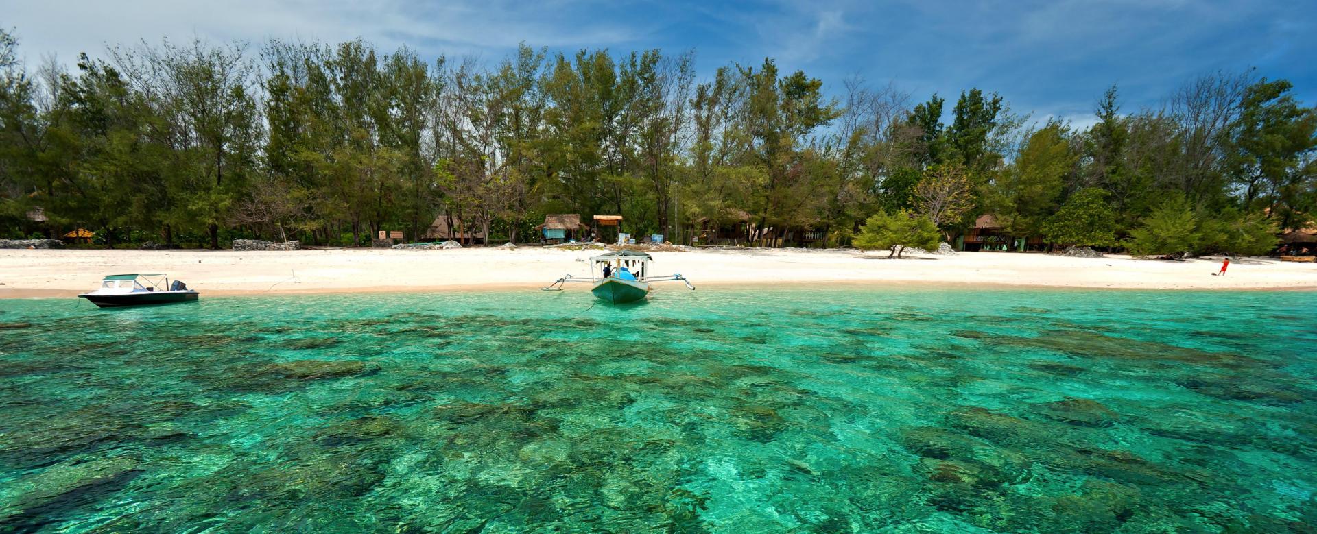 Voyage à pied Indonésie : Bali-gili des petits