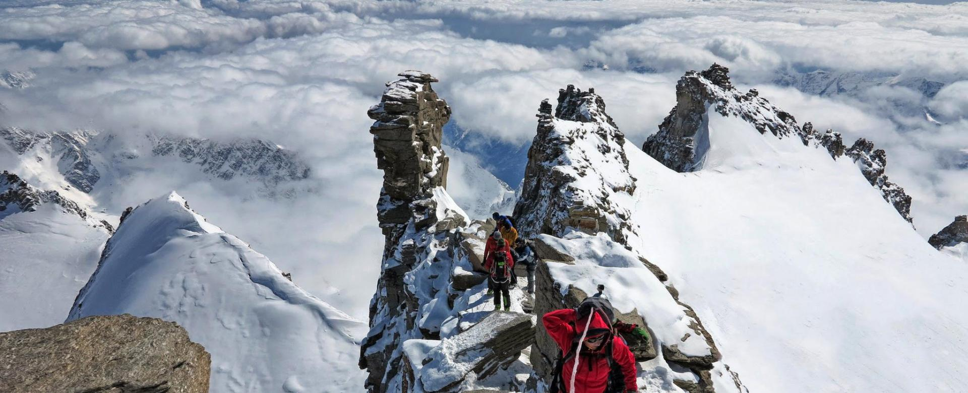 Voyage à pied : Alpes du Nord : La haute route du grand-paradis (4061 m)