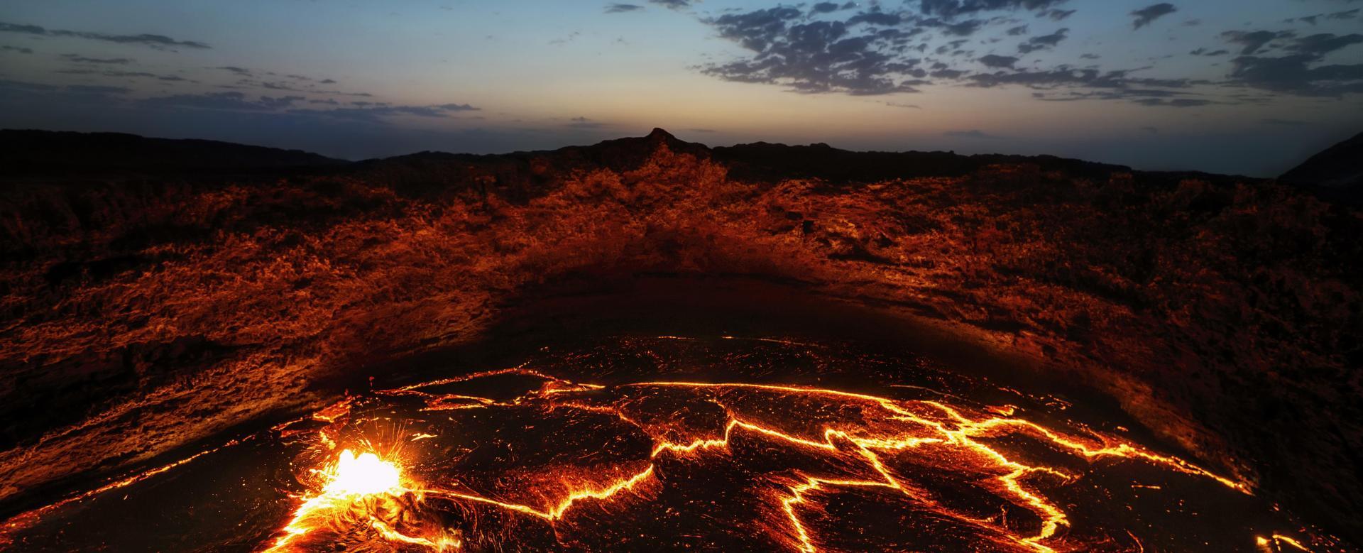 Voyage à pied : Royaume d'abyssinie et volcans du danakil