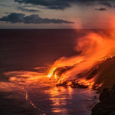 Hawaii, les montagnes de feu