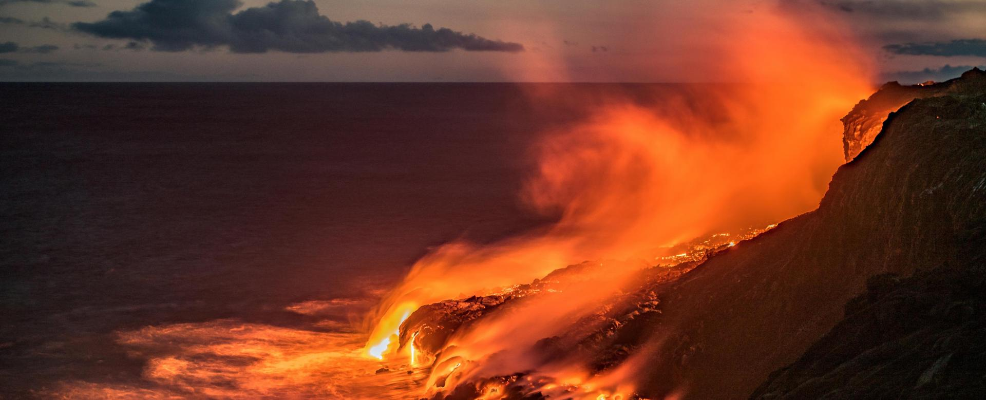 Voyage à pied : Hawaii, les montagnes de feu