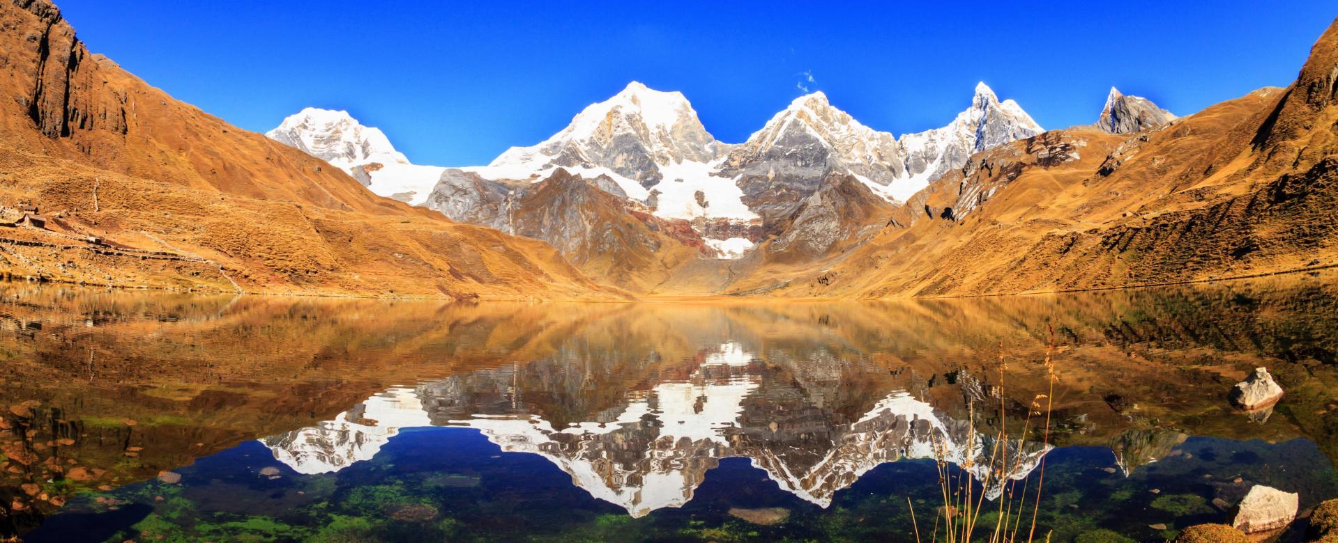 Voyage à pied :  le tour de huayhuash