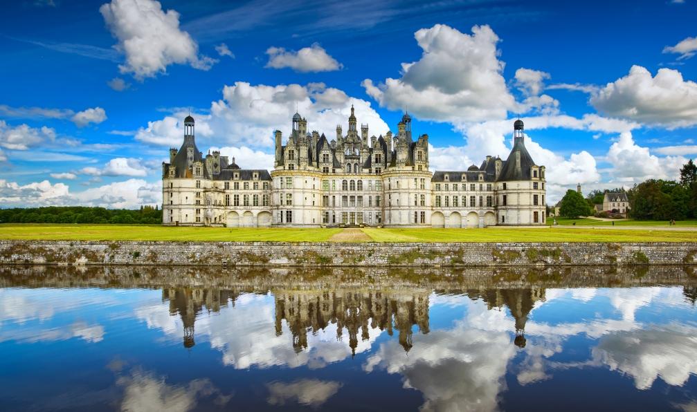 Image Châteaux de la loire, le lys et l'eau