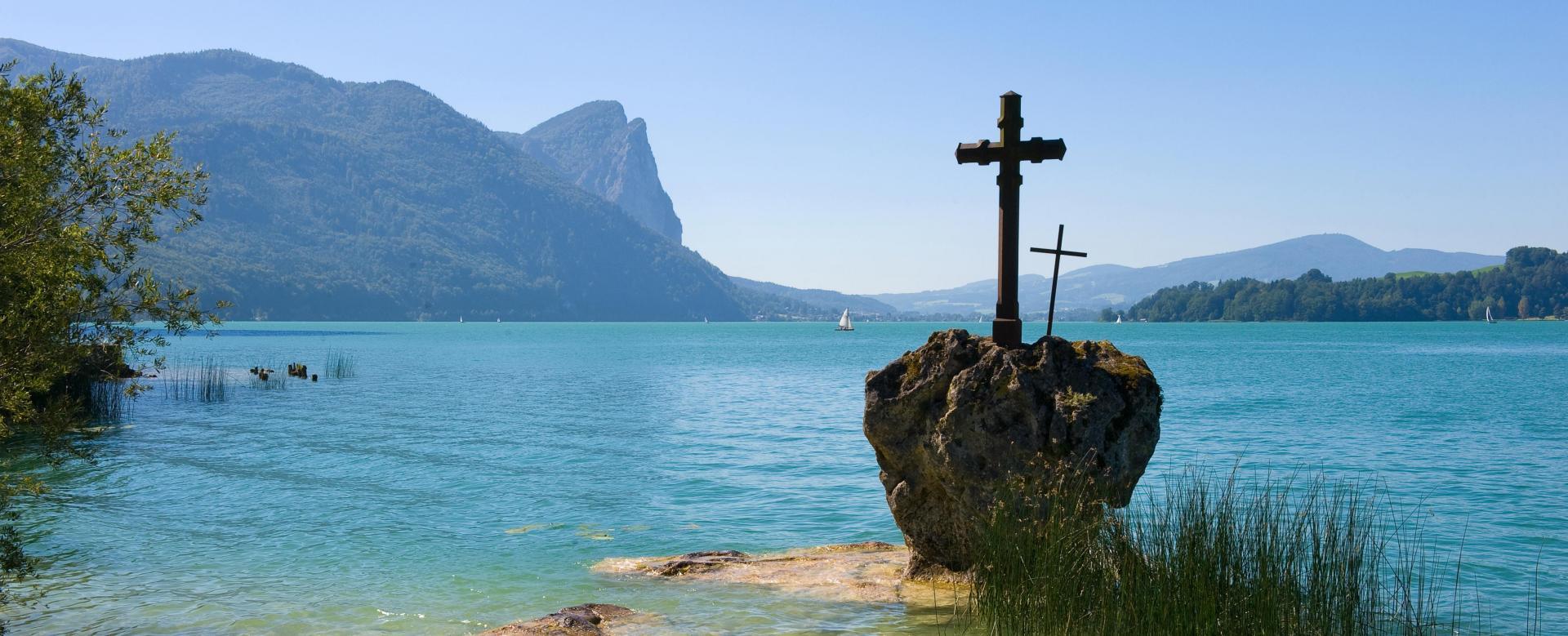 Voyage à pied : Autriche : Vélo et randonnée autour des lacs de salzbourg