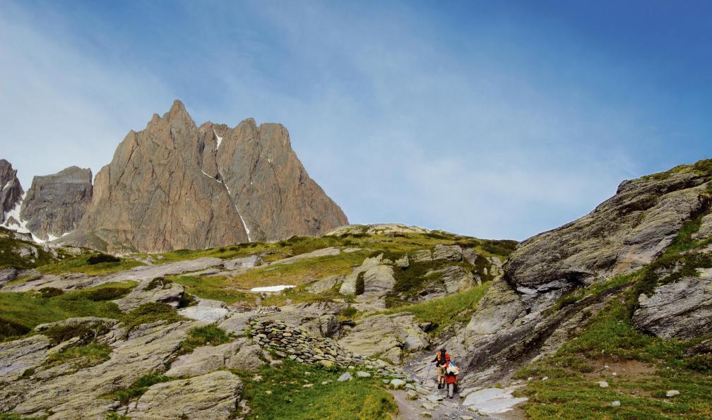 Image Haute clarée et mont thabor