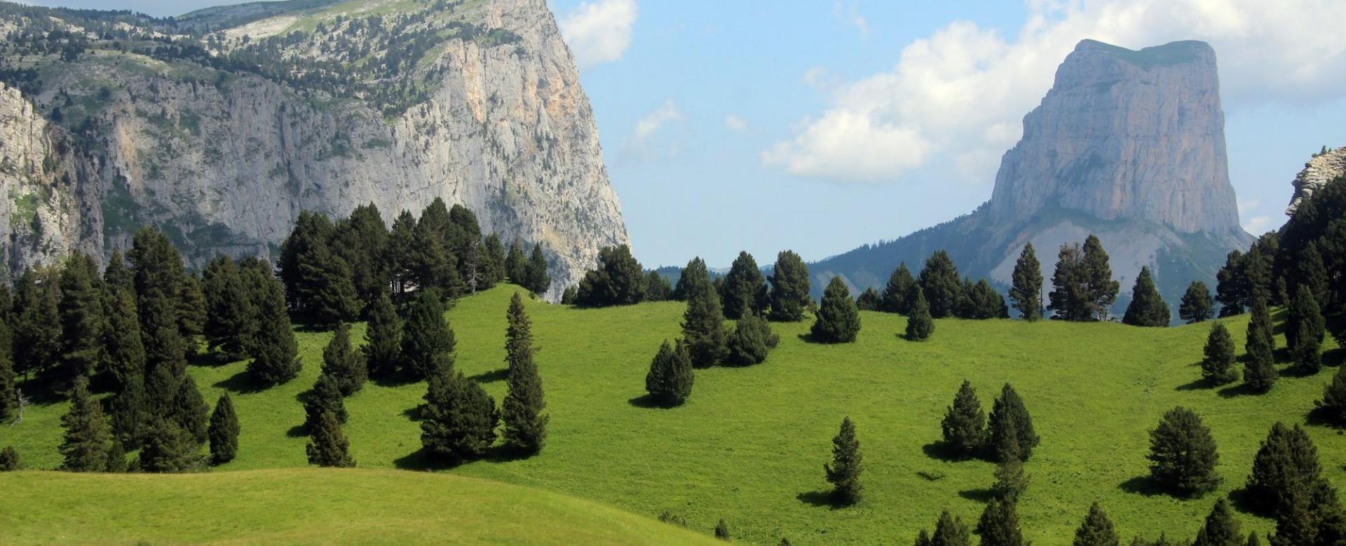 Voyage à pied France : Les plateaux secrets du vercors