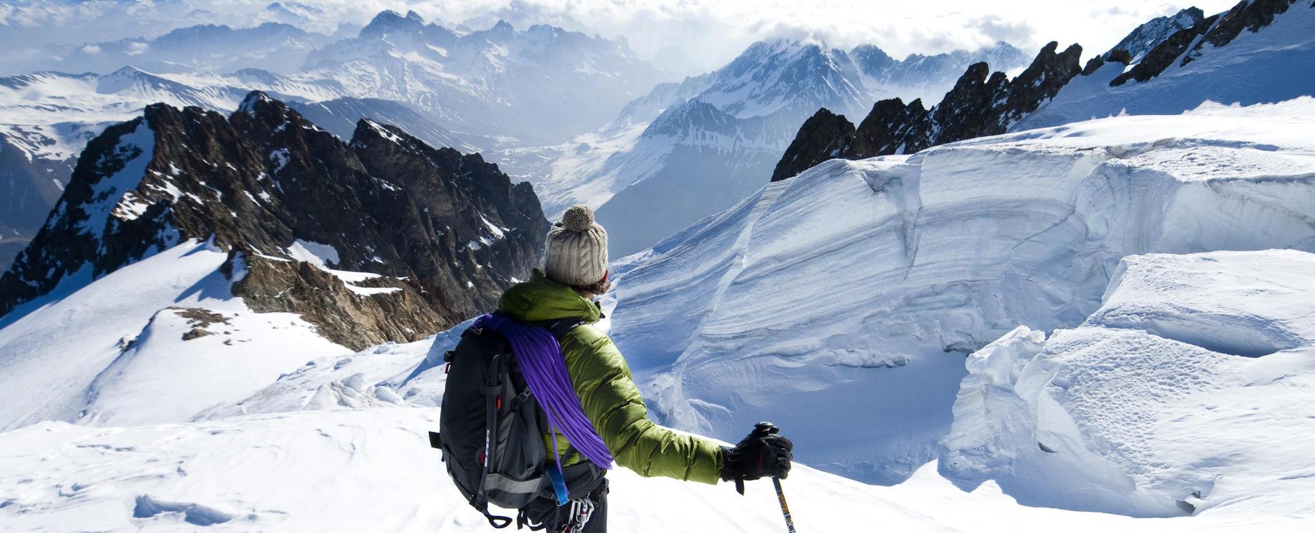 Voyage à la neige : Tour de la meije à ski de rando