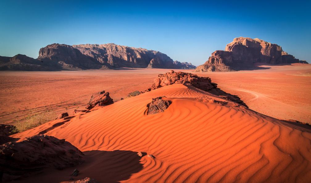 Image Trek bédouin: grand rift, cité rose et wadi rum