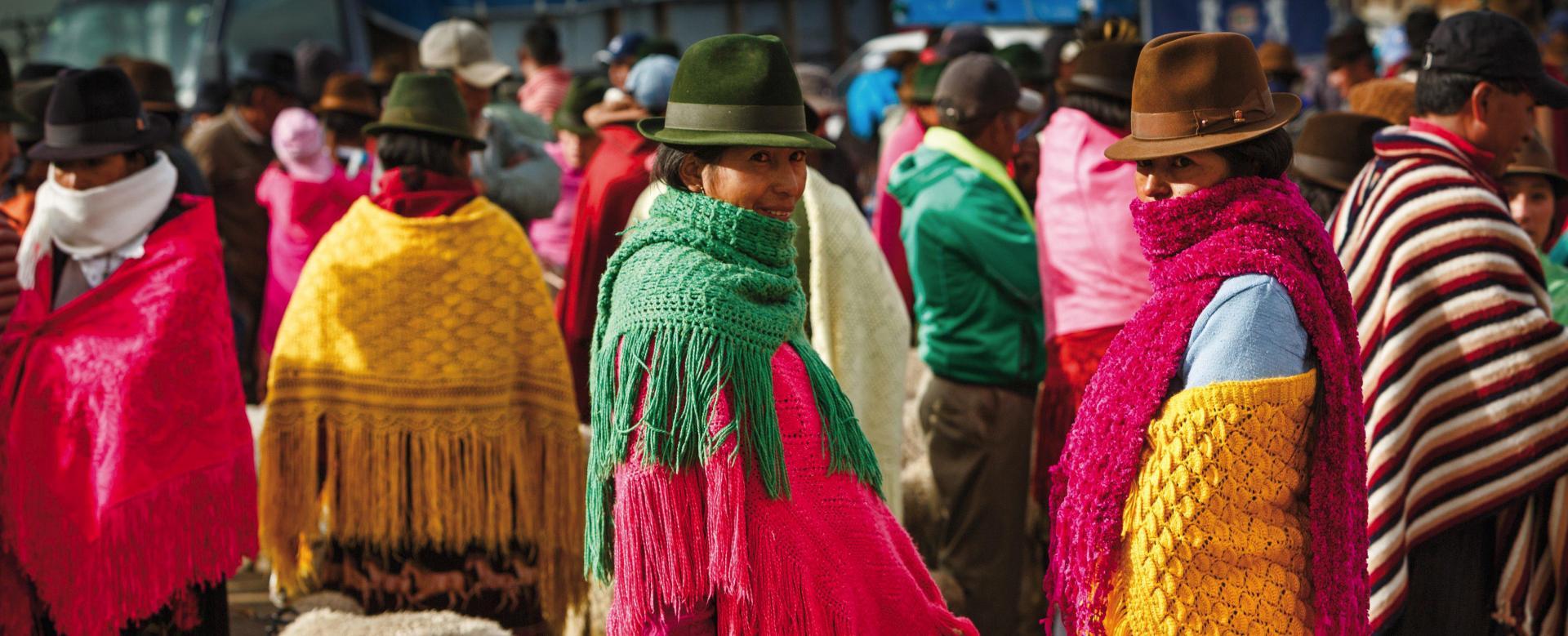 Voyage à pied : Equateur, condensé d\'amérique latine