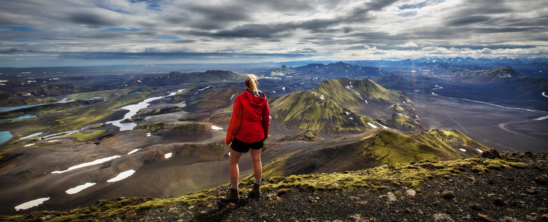 Voyage à pied : Le trek de landmannalaugar