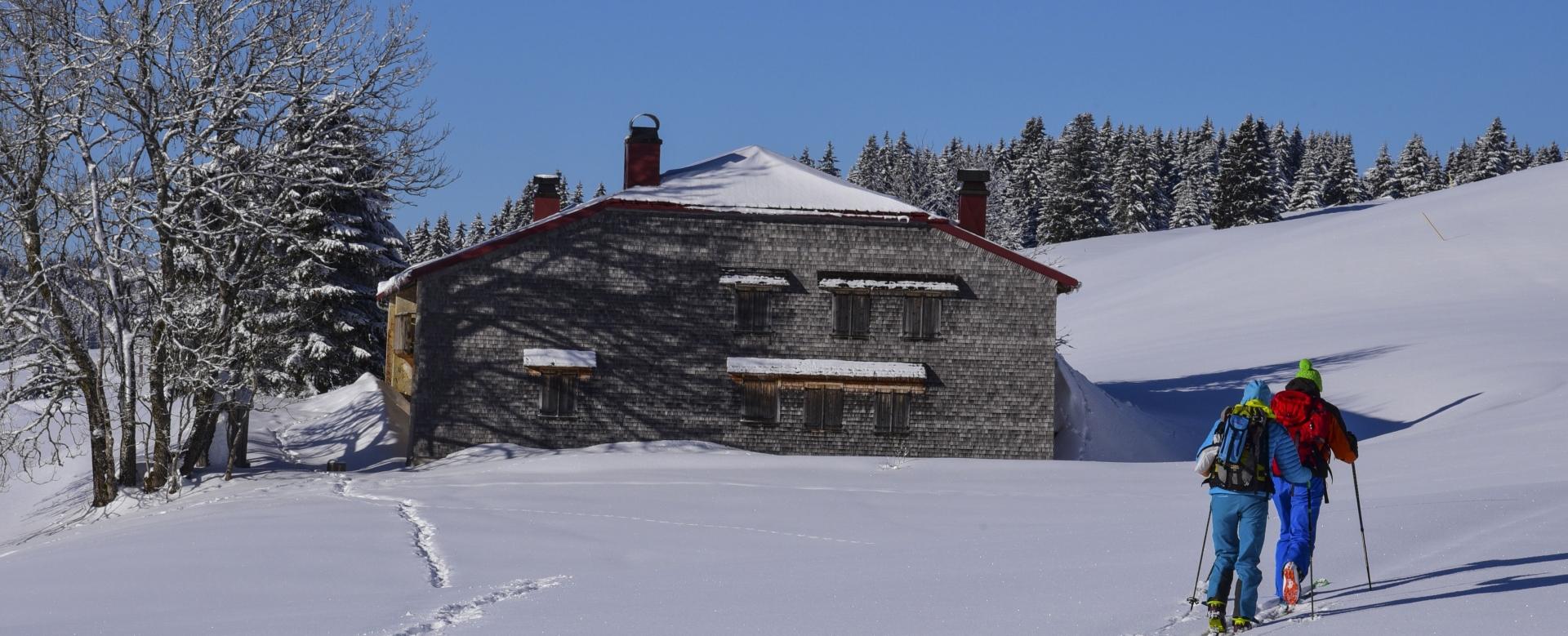 Voyage à la neige : Ski nordique dans le jura