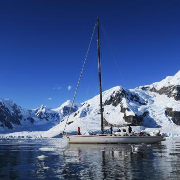 A la voile en Antarctique