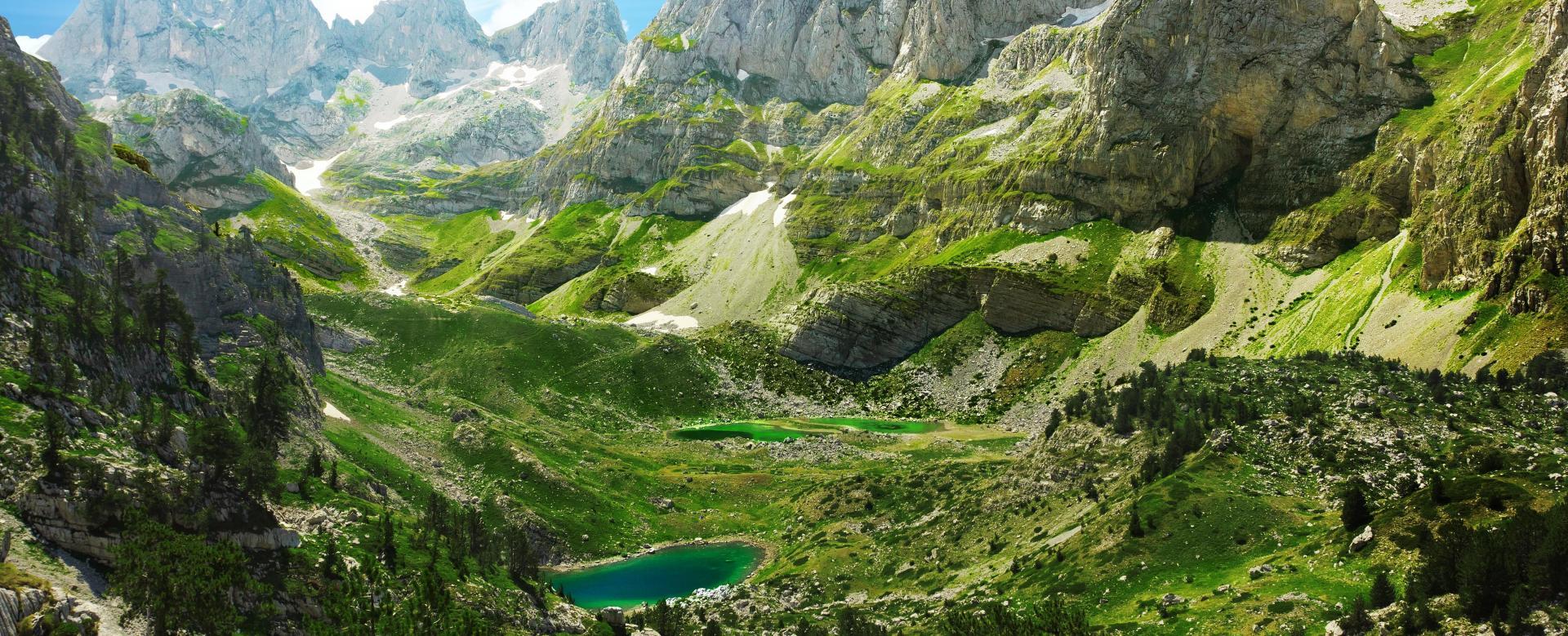 Voyage à pied : Le grand trek des alpes albanaises