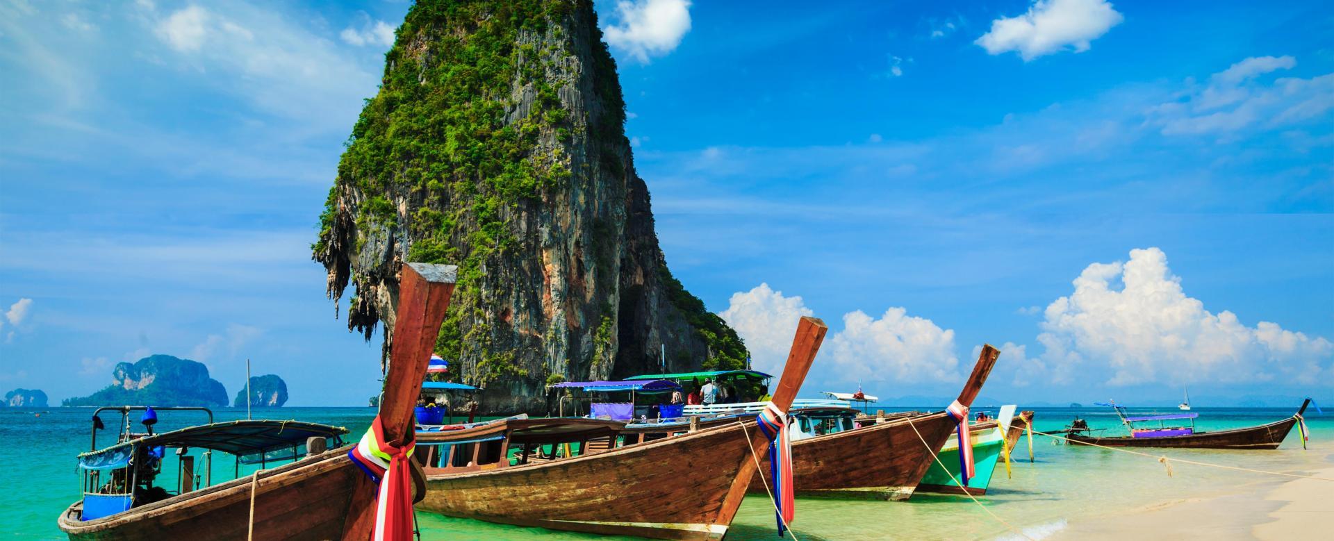 Voyage à pied : Parcs du sud et plages de krabi