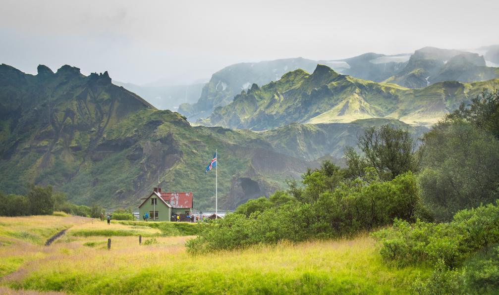 Image Le trek de landmannalaugar
