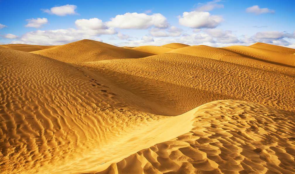 Image Montagnes, dunes et palmeraies