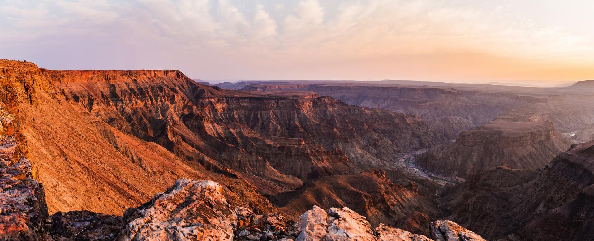 Voyage à pied : Le grand tour de namibie